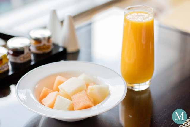 Breakfast at Fairmont Gold Lounge, Fairmont Makati