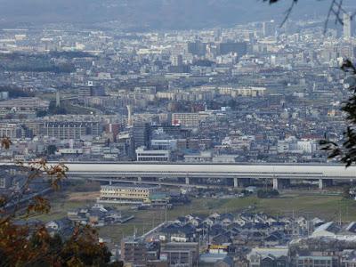 獅子窟寺 展望台からの眺望