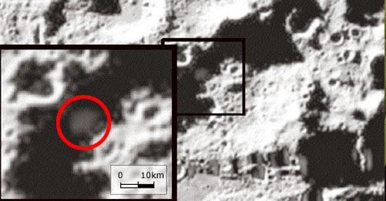 Água encontrada na Lua