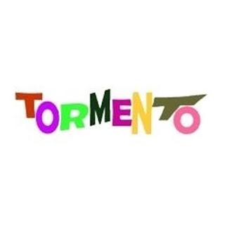 logo Tormento scritto con lettere colorate sfalsate