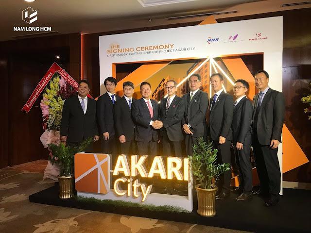 Lễ ký kết - triển khai dự án Akari City Võ Văn Kiệt