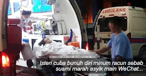 Thumbnail image for Isteri Minum Racun Sebab Suami Marah Asyik Main WeChat