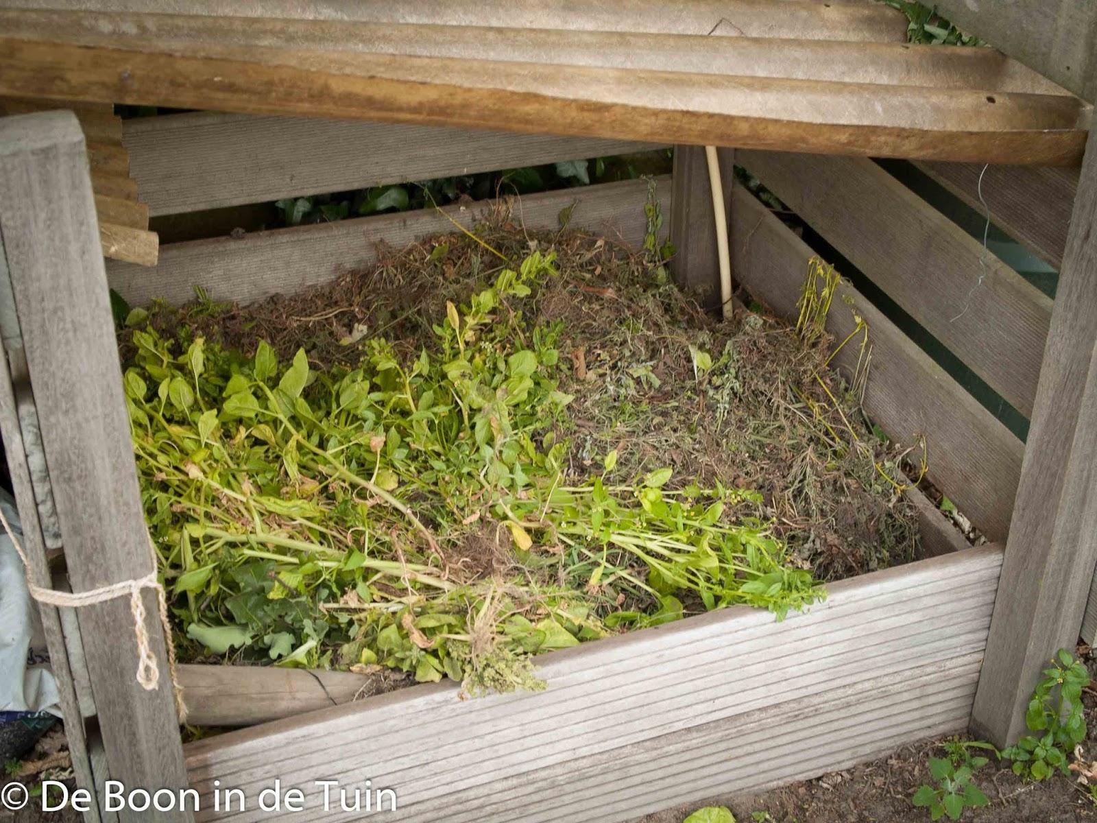 composteren composthoop moestuin volkstuin