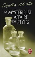 Couverture La mystérieuse affaire de Styles d'Agatha Christie