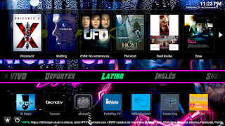 latino kodi neon build