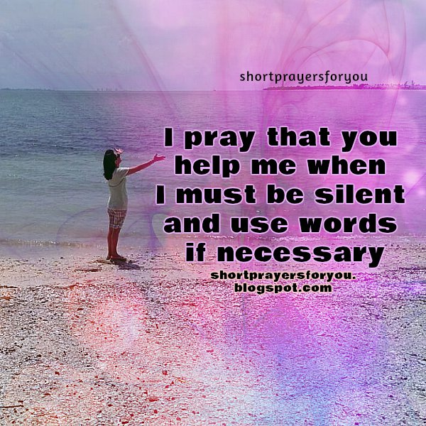 Short prayer help me Lord, free christian prayers, christian quotes, free image with prayers.