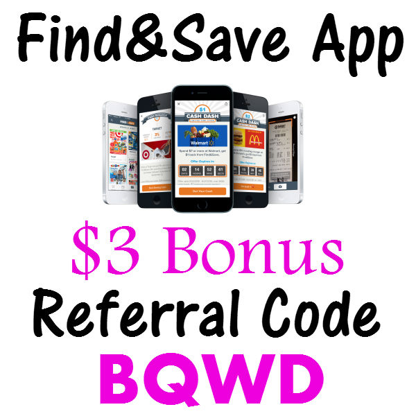 Find&Save Bonus Code, Find and Save Share Code, Find&Save Promo Code, Find&Save Share Code