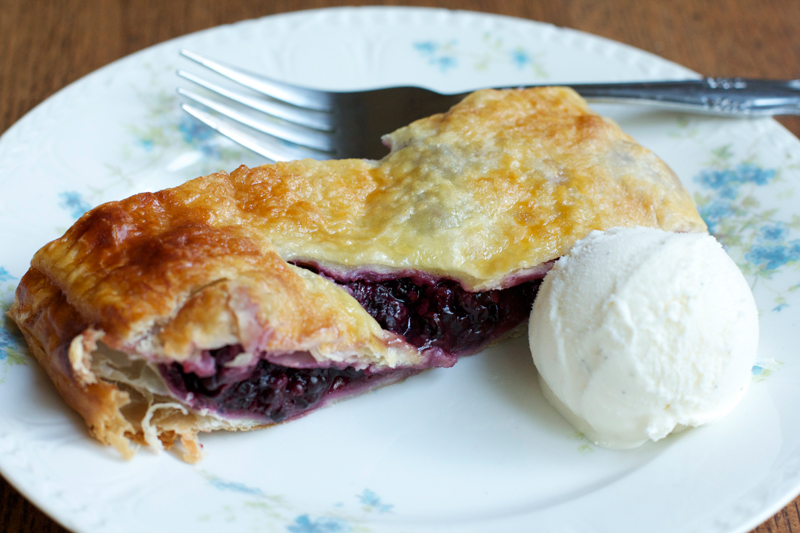 Blackberry Strudel || A Less Processed Life