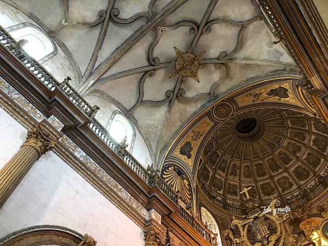 Interior Sacra Capilla del Salvador