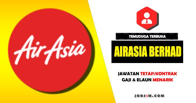 Temuduga Terbuka di AirAsia Berhad - MIN SPM