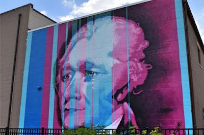 Hamilton mural, Hamilton OH, outdoor art