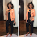 Genevieve Nnaji looks gorgeous as she stepped out last night