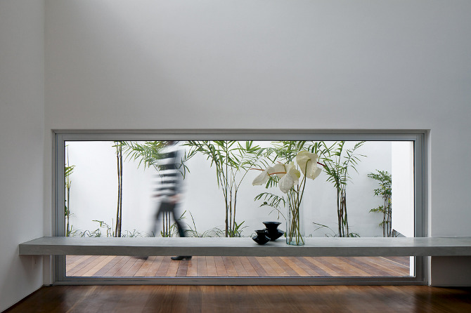 Casa de los patios de ar arquitectos arquitectura y for Decoracion de interiores patios internos