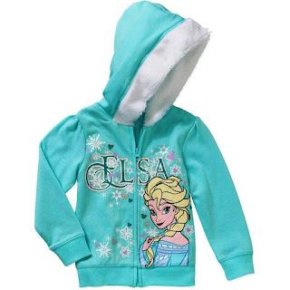 Jaket Cantik dan Lucu Untuk Anak Perempuan Motif Frozen