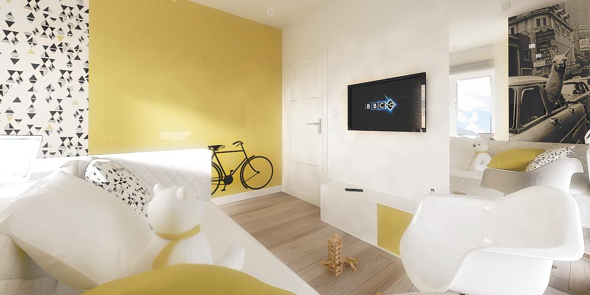 d429fc095d3 Ένα πολύ όμορφο μοντέρνο δωμάτιο σχεδιασμένο από την αρχιτέκτονα Agnieszka  Ufnal αντλεί έμπνευση από την πολύβουη ζωή της Νέας Υόρκης διατηρώντας  παράλληλα ...