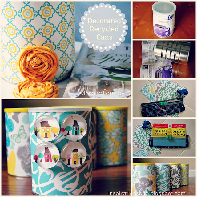 How to Decorate Recycled Cans