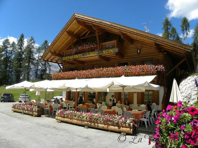 Cortina d'Ampezzo  ristorante Lago Scin