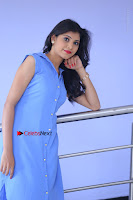 Telugu Actress Mounika UHD Stills in Blue Short Dress at Tik Tak Telugu Movie Audio Launch .COM 0103.JPG