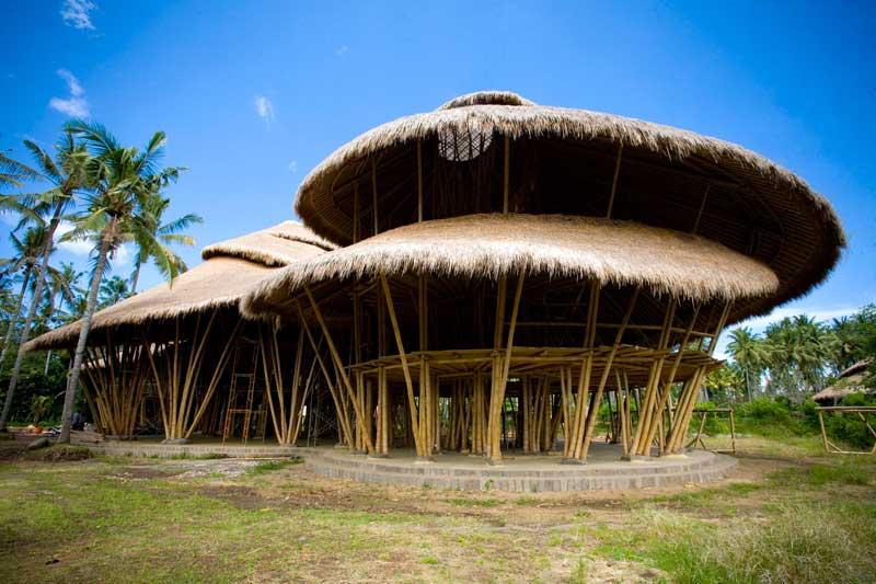 Home Designs: Bamboo House Design