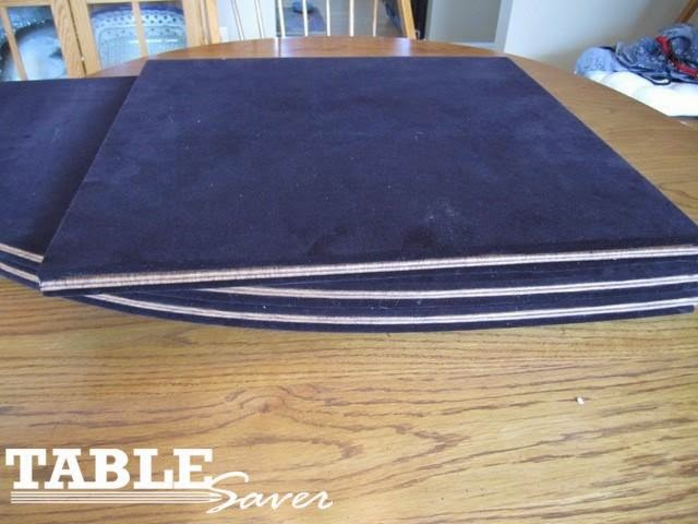 Table Pads Table Saver April 2015