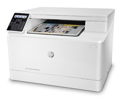 nw All inwards One Wireless Color Laser Printer HP LaserJet Pro M180nw Driver Downloads