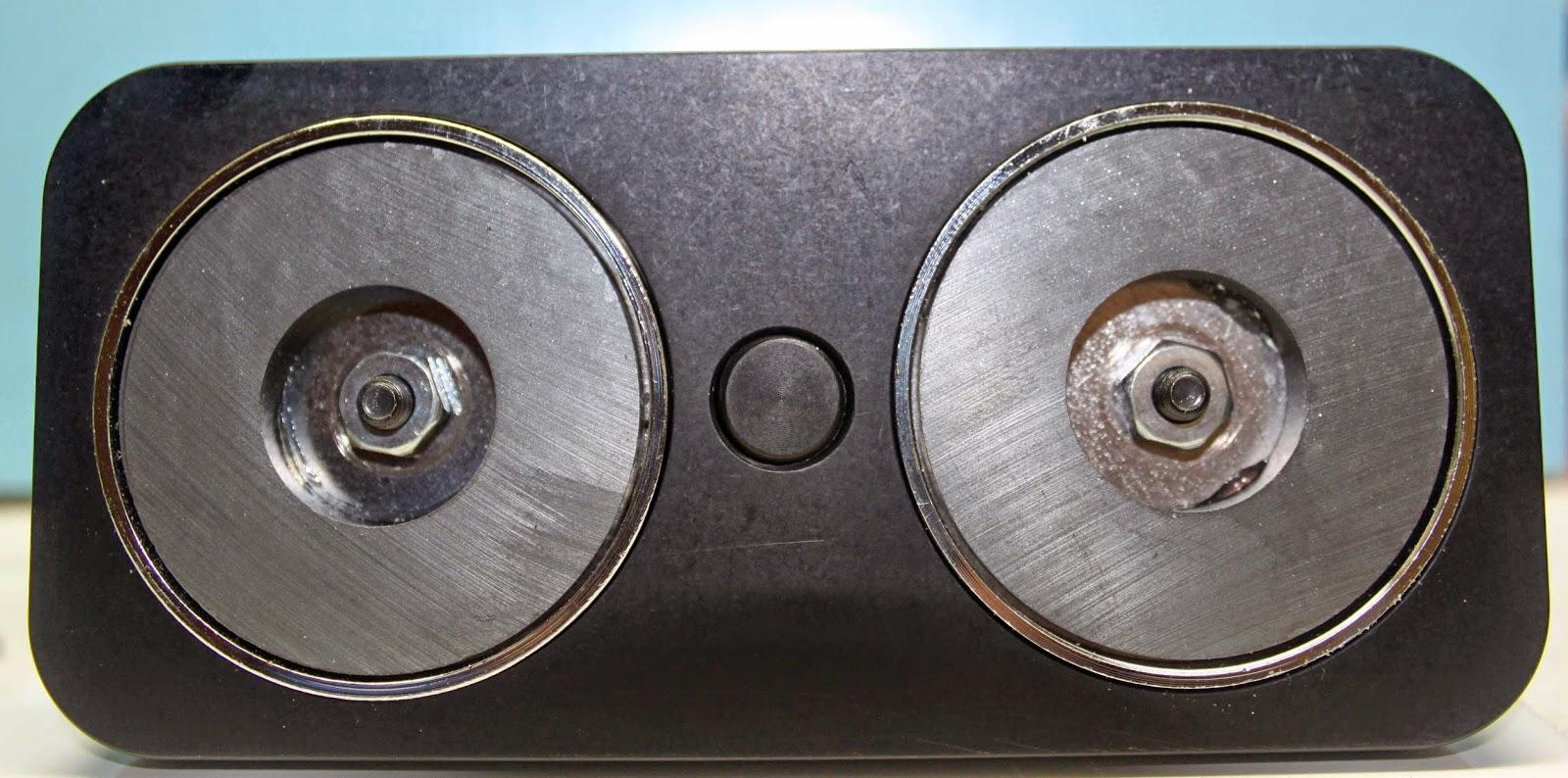 Magnets under Muskoka Magna Vise