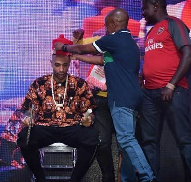 Meet Thierry Henry, the newly crowned Igwe of football (Photos)