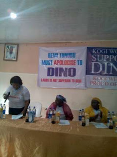 Kogi Women ask Tinubu to apologize to Dino Melaye