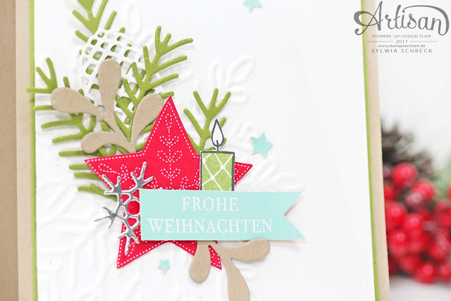 Weihnachtsquilt-Stampin up