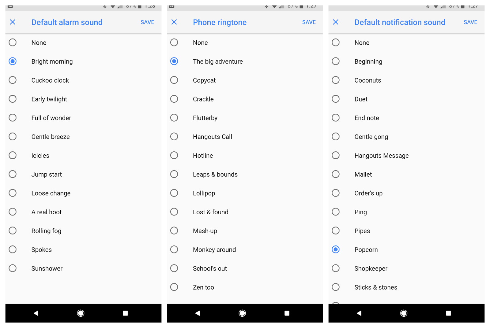 Download] Google Pixel 2 New Alarm Sounds, Notification Sounds