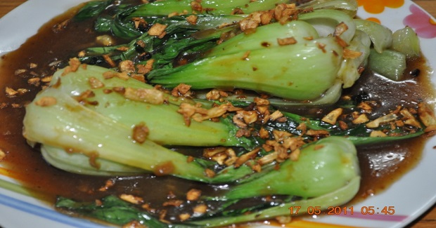 Bok Choy In Ginger And Garlic Sauce Recipe