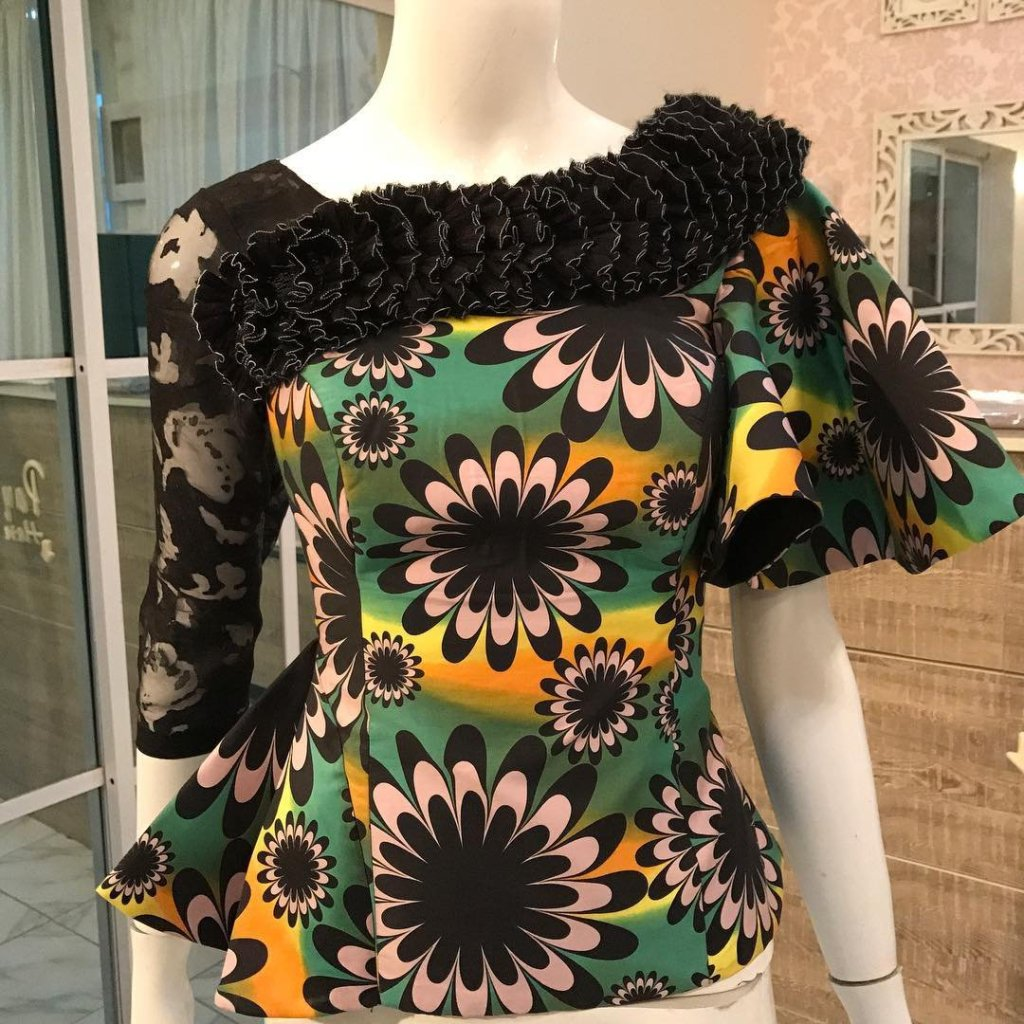 6884d19ad Best 25+ Peplum tops ideas 2018 on Od9jastyles that Will Blow Your ...
