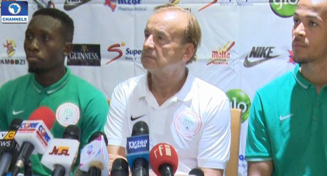 "Nigerian players use ""football age"" - Super Eagles caoch Gernot Rohr"