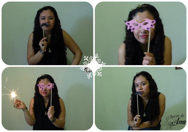 Kit de adornos para selfie de Año Nuevo