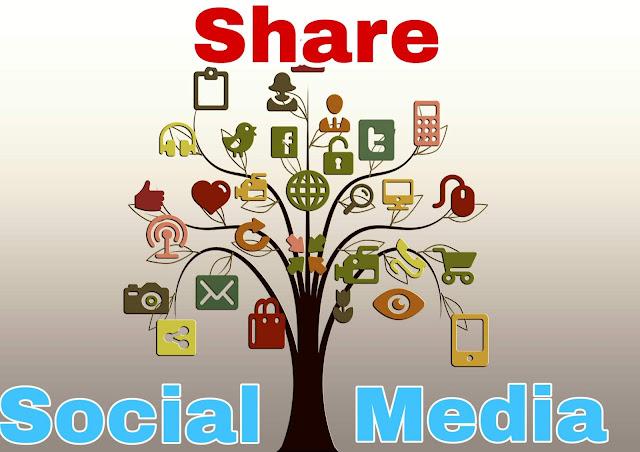 social media marketing share