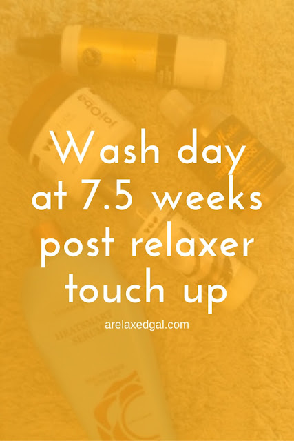 It's another wash day for my relaxed hair. This time after I just got back from a missions trip to the Dominican Republic. | arelaxedgal.com