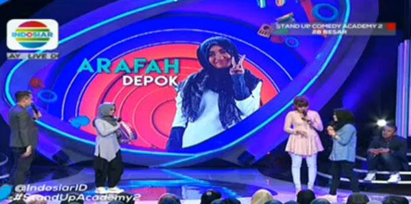 Stand Up Comedy - Arafah, Depok, kembali bikin kocak dan ketawa penonton