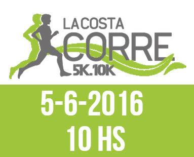 10k y 5k La Costa corre (Ciudad de la Costa, Canelones, 05/jun/2016)