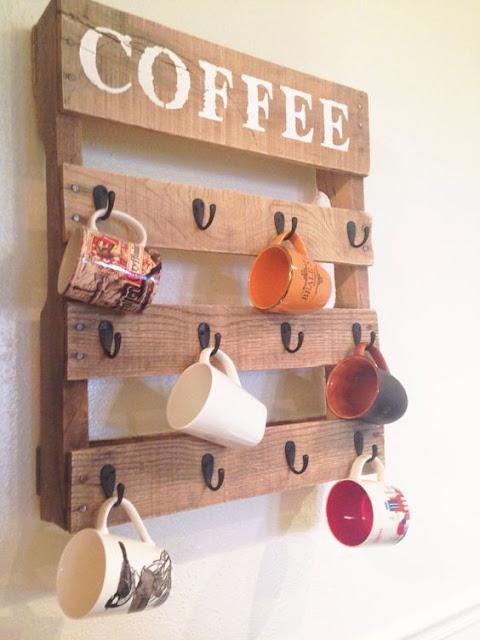 Recycler pour décorer tasse