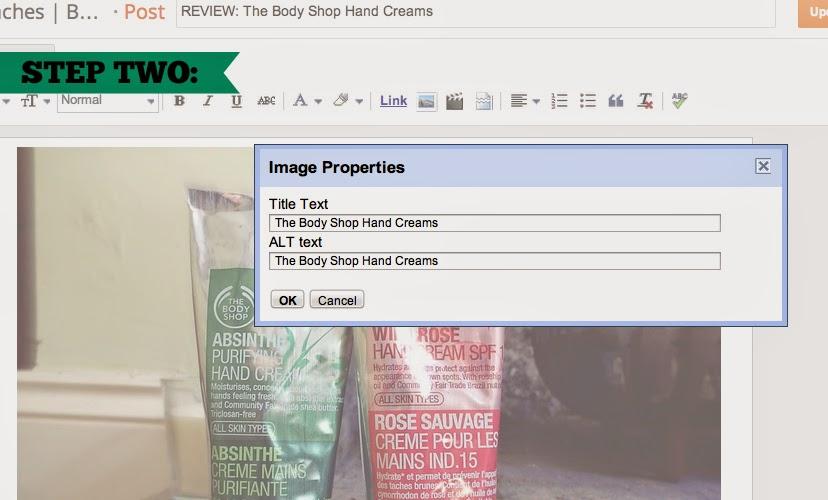 Blogging Tips - Adding Alt Text to Images