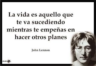 Frase de la cancion beautiful boy de John Lennon