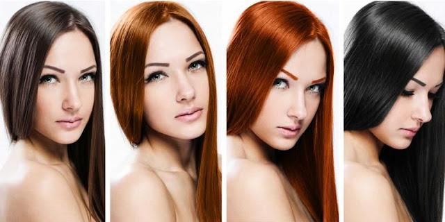 warna rambut yang cocok untuk kulit kuning langsat