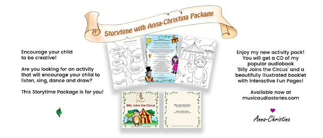 Anna-Christina's Storytime with Anna-Christina Package