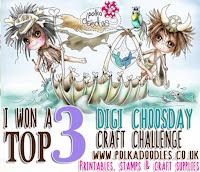 Top 3 at Digi Choosday Challenge