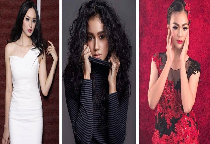 Juara 3,2,1,Puteri Indonesia 2016 Felicia Hwang, Intan Aletrino Dan Kezia Warouw