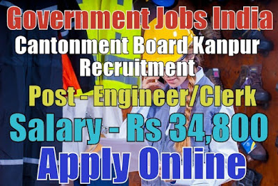Cantonment Board Kanpur Recruitment 2017