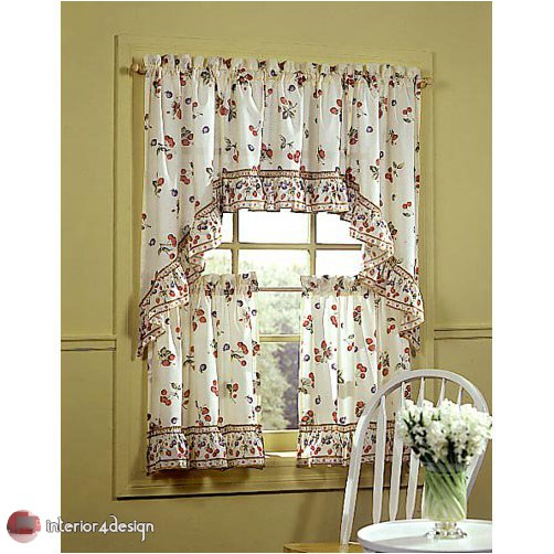 Elegant Kitchen Curtains 21
