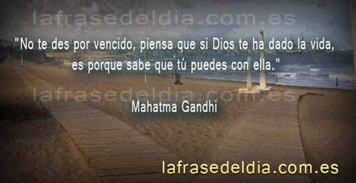 Citas de Mahatma Gandhi
