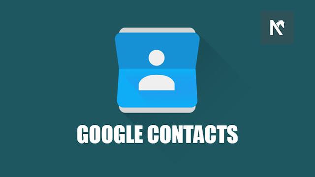 Cara Menyimpan Kontak Nomor Telepon di Google Contact Android