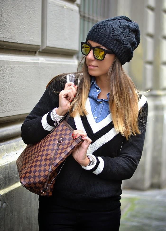 Outfit Camicia Di Jeans E Maglione | teethcat com